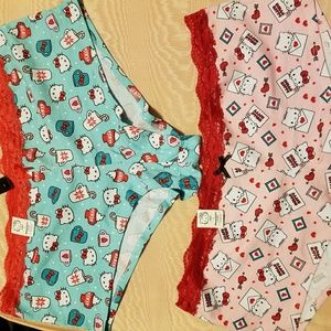 New! Hello Kitty 2 pair Torrid panties sz 2x